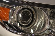 Free Car Headlights Stock Image - 18146211