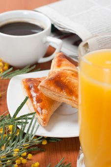 Free Continental Breakfast Stock Photography - 18146242