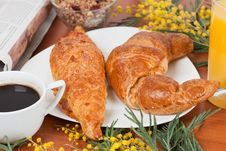 Free Continental Breakfast Stock Photo - 18146350