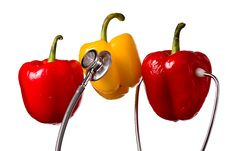 Free Three Bell Peppers Stock Photos - 18146883