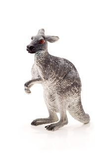 Free Toy Kangaroo, Isolated Royalty Free Stock Photo - 18147145