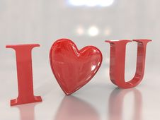Free I Love You Royalty Free Stock Photography - 18148087