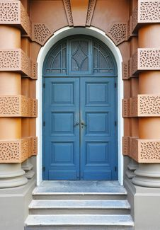 Free Blue Door Royalty Free Stock Images - 18148169