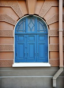 Free Blue Window Royalty Free Stock Photography - 18148307