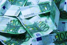 Euro Background Stock Images