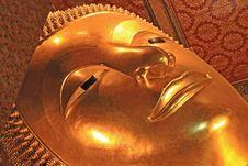 Reclining Buddha Image Stock Images