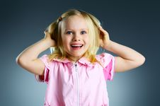 Free The Portrait Of A Little Girl. Stock Photography - 18149982