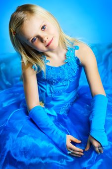 Free The Portrait Of A Little Girl. Royalty Free Stock Photography - 18149997