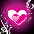 Free Valentine Background With Hearts Stock Photos - 18152003