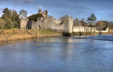 Free Ruins Of Castle In Adare - HDR. Stock Image - 18150411
