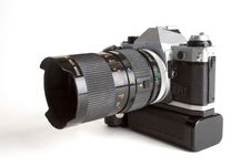 Camera Body With Lens Stock Images