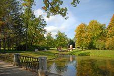 Free Park Landscape, Pushkin, RF Stock Photos - 18152883