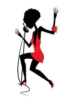 Free Singing Girl Stock Image - 18152941