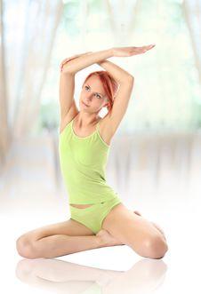 Free Gymnastics 1 Royalty Free Stock Photo - 18153225