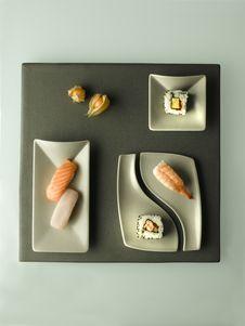 Free Sushi Royalty Free Stock Photo - 18153295