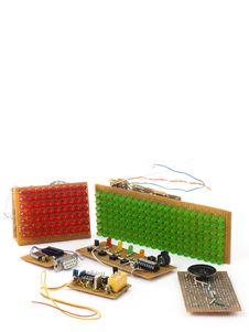DIY Circuits Stock Photography