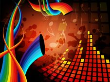 Free Music Background Stock Photo - 18153890