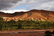 Free Morocco Countryside Royalty Free Stock Images - 18153899