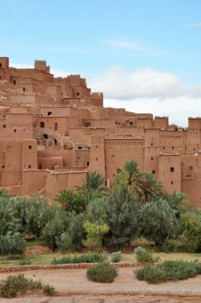 Free Kasbah Royalty Free Stock Images - 18154189