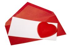 Free Valentine S Day Card Royalty Free Stock Image - 18154616