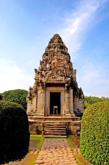 Free The Phimai Sanctuary Royalty Free Stock Photo - 18154835