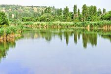 Free Summer Landscape Stock Image - 18155131