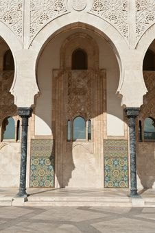 Free Mosque Hassan II Royalty Free Stock Image - 18155316
