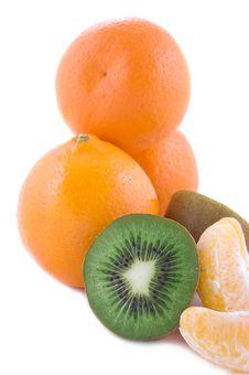 Free Orange And Kiwi Stock Image - 18155371