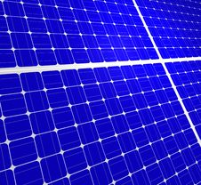 Free Solar Panels Royalty Free Stock Photography - 18155477