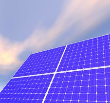 Free Solar Panels Stock Photography - 18155482