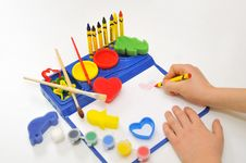 School Activity Royalty Free Stock Photos