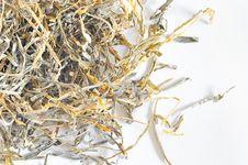 Free Dried Laminaria Royalty Free Stock Photography - 18155897