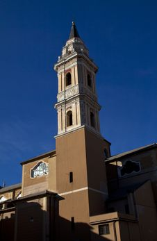 Old Church Of San Giovanni,square Of Imperia Royalty Free Stock Photography