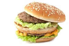 Free Cheeseburger Stock Image - 18156381