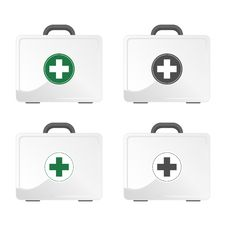 Free First Aid Kit Royalty Free Stock Photo - 18156555