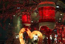 Free Chinese Lanterns Stock Photography - 18156672