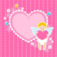 Free Cute Cupid Stock Photo - 18156690