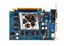 Free Video Card Royalty Free Stock Photo - 18156875