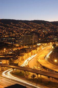 Free Ciudad Nocturna Stock Photos - 18157503