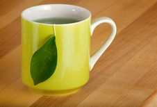 Free Mug Of Organic Green Tea Royalty Free Stock Photos - 18157668