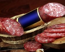 Free Salami Royalty Free Stock Photography - 18158017