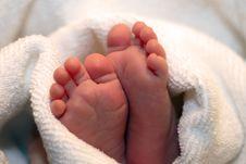 Free Babyfeet Royalty Free Stock Images - 18158039