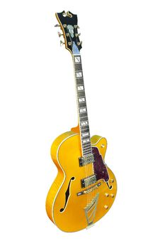 Free Yellow Electric Guitar Stock Images - 18158374