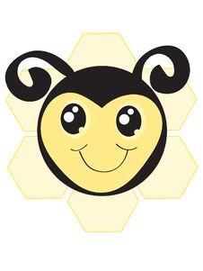Free Bumble Bee Logo Stock Photography - 18158542