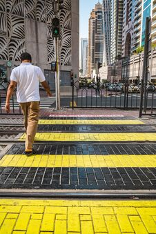 Free Dubai Street Scene Stock Images - 181506744
