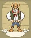Free Cowboy Man Stock Photo - 18160370