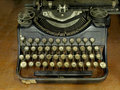 Free Old Typewriter Royalty Free Stock Photos - 18163138