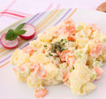 Free Fresh Salad Of Potatoes Stock Photography - 18168442