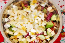 Free Mediterranean Or Greek Salad Stock Photos - 18160083