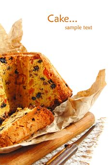 Free Christmas Fruitcake Stock Images - 18160084
